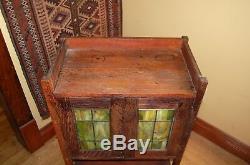 Lakeside craft shop mission oak cabinet smoking liquor Sheboygan WI