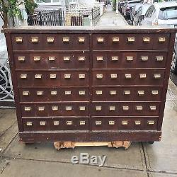 Large Vintage Apothecary Cabinet