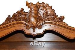 Lovely Vintage French Louis XV Cabinet, Oak, 1940's