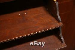 Mahogany 1920 Antique Music Cabinet, Pedestal or Nightstand