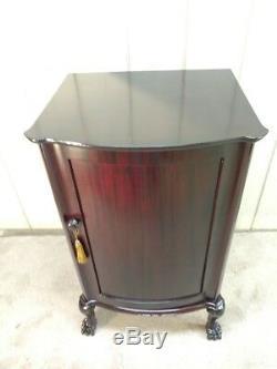 Mahogany Phonograph Disk Record Cabinet