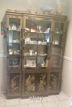 Mid-Century Chinoiserie Drexel Heritage China Cabinet