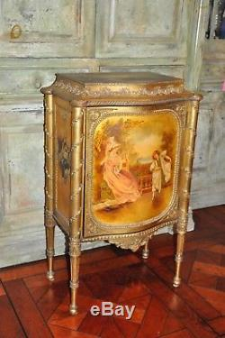 Music Cabinet / French