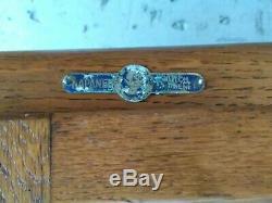 Napanee Hoosier oak cabinet, white enamel counter