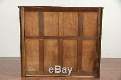 Oak Antique 48 Drawer File or Collector Cabinet, Signed Peterson #29553