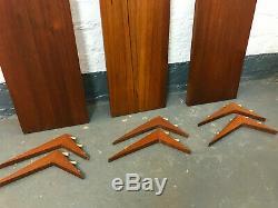POUL CADOVIUS CADO TEAK MODULAR WALL SYSTEM UNIT shelves & brackets