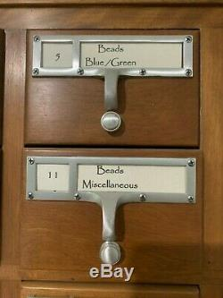 Price lowered. Vintage 72-Drawer Library CARD CATALOG. Very good condition