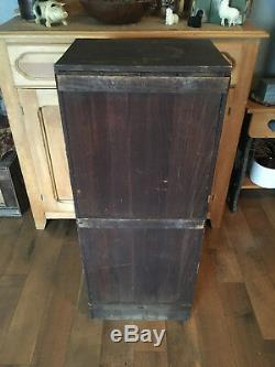 Rare Antique 100+ Year Old Philadelphia Museum Cabinet Filled with Unique Displays