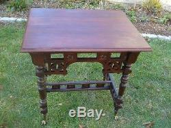 Table Cherry Eastlake Antique Ball&claw