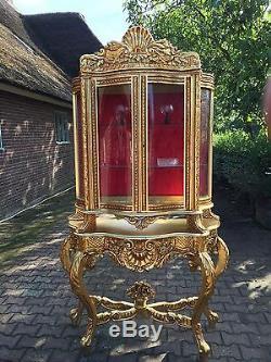 Unique Showcase In French Louis XVI