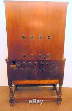 VIntageAZTEC INSPIRED 1928 RADIO-PHONO AR776 CABINET RCA 64 / ELECTROLA VE9-18X