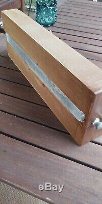 Vintage 54 Drawer Library Card Catalog Cabinet Industrial Architectural 2-SIDED