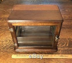 Vintage Barber Salon/Medical Sterilizer Cabinet with 2 adjustable glass shelves