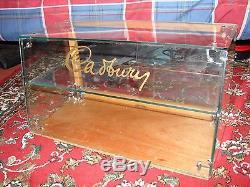 Vintage Cadbury's Chocolate Glass Counter Top Display Cabinet