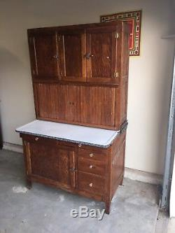 Vintage Hoosier Baking Kitchen Cabinet 1800s