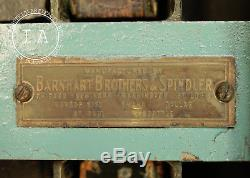 Vintage Industrial 44 Drawer Hamilton Flat File Printers Cabinet Barnhart