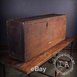 Vintage Industrial Depression Era 102 Drawer Apothecary Cabinet