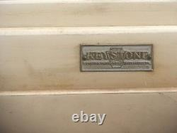 Vintage Keystone Hooser Cabinet Hutch with Mirrors 30s 40s Retro