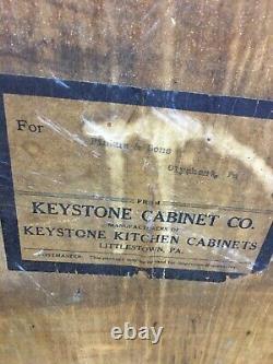 Vintage Keystone Kitchen Cabinet