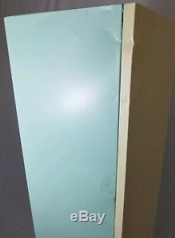 Vintage Metal Cupboard Kitchen Steel Storage Cabinet Mid-Century Industrial