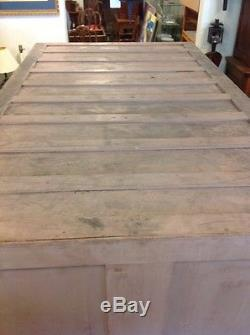 Vintage Oak Wooden 252 Drawer Library Card Catalog Cabinet Yale