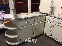 Vintage Original HOOSIER Made Kitchen Cabinets (Tops, Bases, Island)