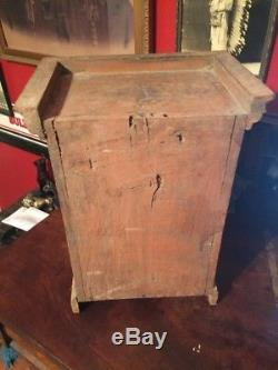 Vintage Primitive 1800 S Small Southern Pine Cabinet