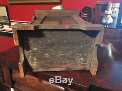 Vintage Primitive 1800's Small Southern Pine Cabinet