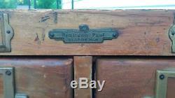 Vintage Remington Rand Guardsman Card Filing Catalog index cabinet 10 drawers