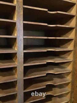 Vintage Sheet Music Cabinet- Storage Cabinet-Potential Gun Cabinet