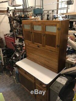 Vintage hoosier kitchen cabinet