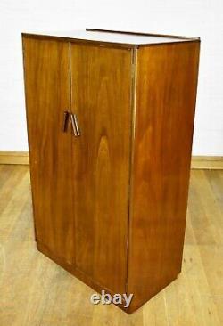 Vintage tallboy side cabinet linen cupboard