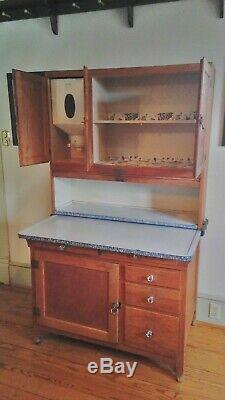 Wonderful 1919 Hoosier Cabinet made by Sellers